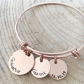 God Parent Gift, God Mother Bangle, Personalised Bangle, Gift For Her