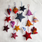 15 Felted Christmas Decorations