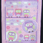 No 85 - Owls Purple/Pink