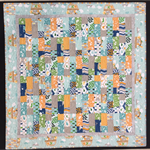 No 81 - Animal Turquoise/orange/grey