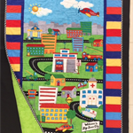 SOLD - No 60 - Road Map Quilt