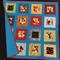"P9 - Spotty Dog Quilt 41"" x 40"""