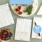 FREE Notepad valued at $8.95. 