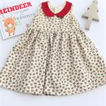 Christmas Holly Girl Tea Party Dress, Girl, Toddler