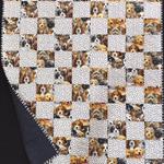 """P10 - Puppy Paws Quilt 40"""" x 47.5"""""""