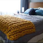 Chunky Blanket | Merino Blanket | Woollen Bed Runner