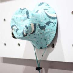 Baby Blue Narwal / Whale Bucket  /Sun Hat