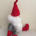 Gordon the Xmas Gnome- hand knitted.
