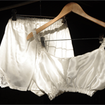 Coco ~ Ivory Satin Silk Sleep Set ~ Old Parisian Glamour Collection~