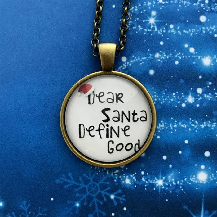 Dear santa define good christmas theme pendant xm009 the dear santa define good christmas theme pendant xm009 aloadofball Gallery