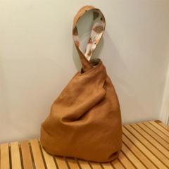 Knot Bag Linen & Hedgehogs