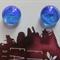 Kiln Fused Glass Stud Earrings, Jewellery.