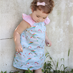 Unicorns and Rainbow Dress, Girl, Toddler - size 6