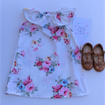 Grace Ruffle Floral Dress, Girl, Toddler