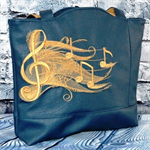 Rylee Tote Bag - Small - Shadow Music