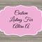 Custom Order For Allira A