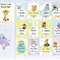 Baby Milestone cards Zoo Theme (28 cards), Baby Milestone Cards, Baby Photo prop