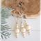 3 x Wood Wooden Bead Christmas Bauble Boho Tree Decoration Home Decor