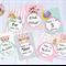 Baby Milestone Cards - Owl Theme Milestone Cards - Baby Photo Cards 30 Cards
