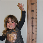 Giant Wooden Height Ruler