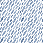 Blue Shoal Fitted Sheet