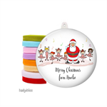 Personalised Christmas decorations Dance Class