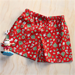 Red Christmas Shorts