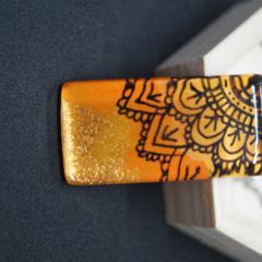 Mandala Glass Pendant