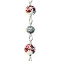 Floral Red Glasses Chain  Gifts for Mum Gifts for Grandma