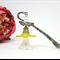 Brown Grey Amber Fairy Angel Bookmark Original OOAK  by Top Shelf