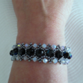 'Parisian Lights' Beaded Bracelet