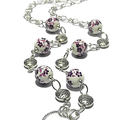 Floral Purple Glasses Chain  Gifts for Mum Gifts for Grandma