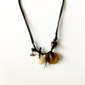 Gypsy Shell Charm Boho Necklace