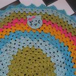 Crocheted Kitty Afghan