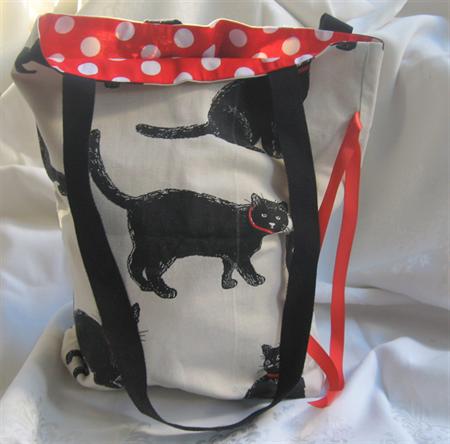 Jenny's Cotton Foldup Shopping Bag