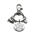 """Love my Cat' Keychain, Gift for Cat Lovers, Key ring, Bag Charms, Pet Keyring"