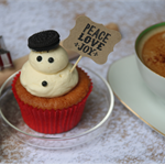 10 Peace Love Joy Cupcake Toppers ~ Christmas Cupcake Toppers ~ Christmas Picks
