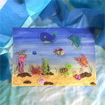 'Under the Sea' Collage