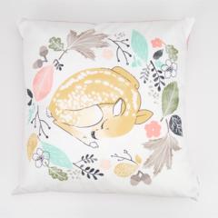 Sleeping Deer Cushion Cover