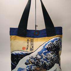 Ukiyo-e Hokusai Manga Bag