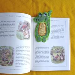 """Crocodile"" Fabric Bookmark"