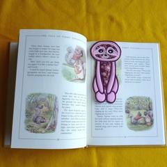 """Sloth"" Fabric Bookmark"