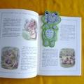 """Frog"" Fabric Bookmark"