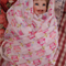Baby Girl - Set/2 Swaddling Cloths