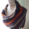 Hand knitted Shawl/Shawlette
