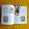 """Meerkat"" Fabric Bookmark"