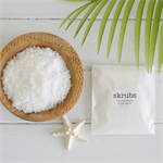 Tropical Natural Body Sugar Scrub Exfoliator Body Polish Stocking Stuffer Sample