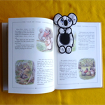 """Koala"" Fabric Bookmark"