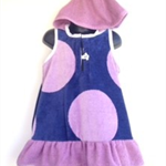 Size 3 Girls Beach Towel Dress