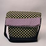 Ichimatsu Pattern Folded Bag
